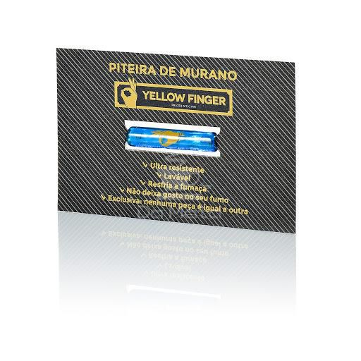 Piteira de Murano Yellow Finger