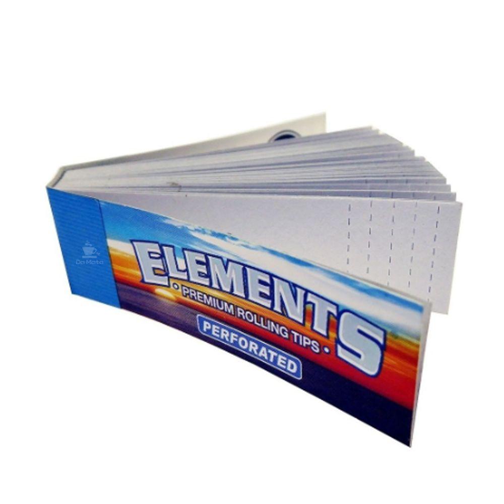 Piteira de Papel Elements Perforated