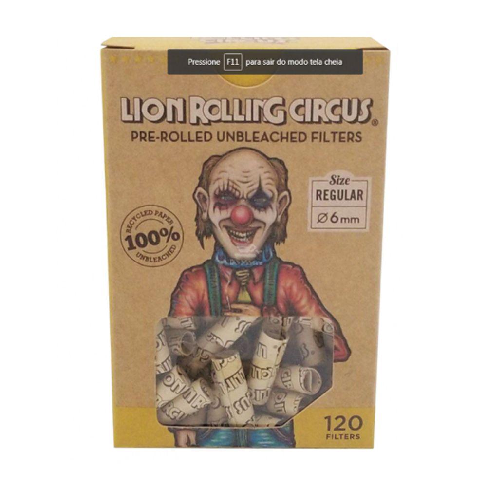 Piteira Pré-enrolada Lion Rolling Circus