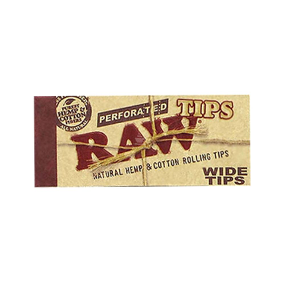 Piteira Raw Perforated Wide Tips