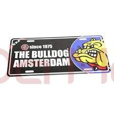 Placa The Bulldog Amsterdam