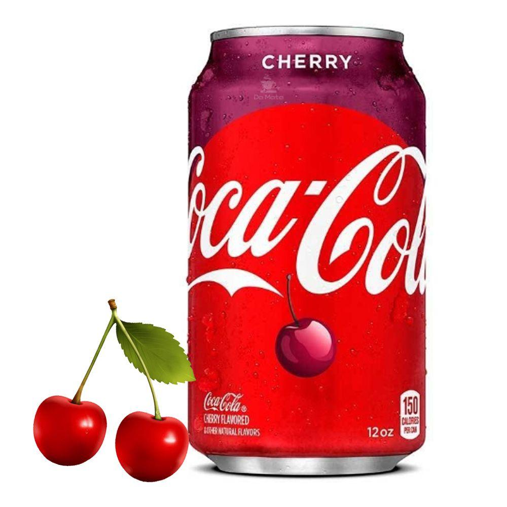 Refrigerante Importado Coca-Cola Cherry