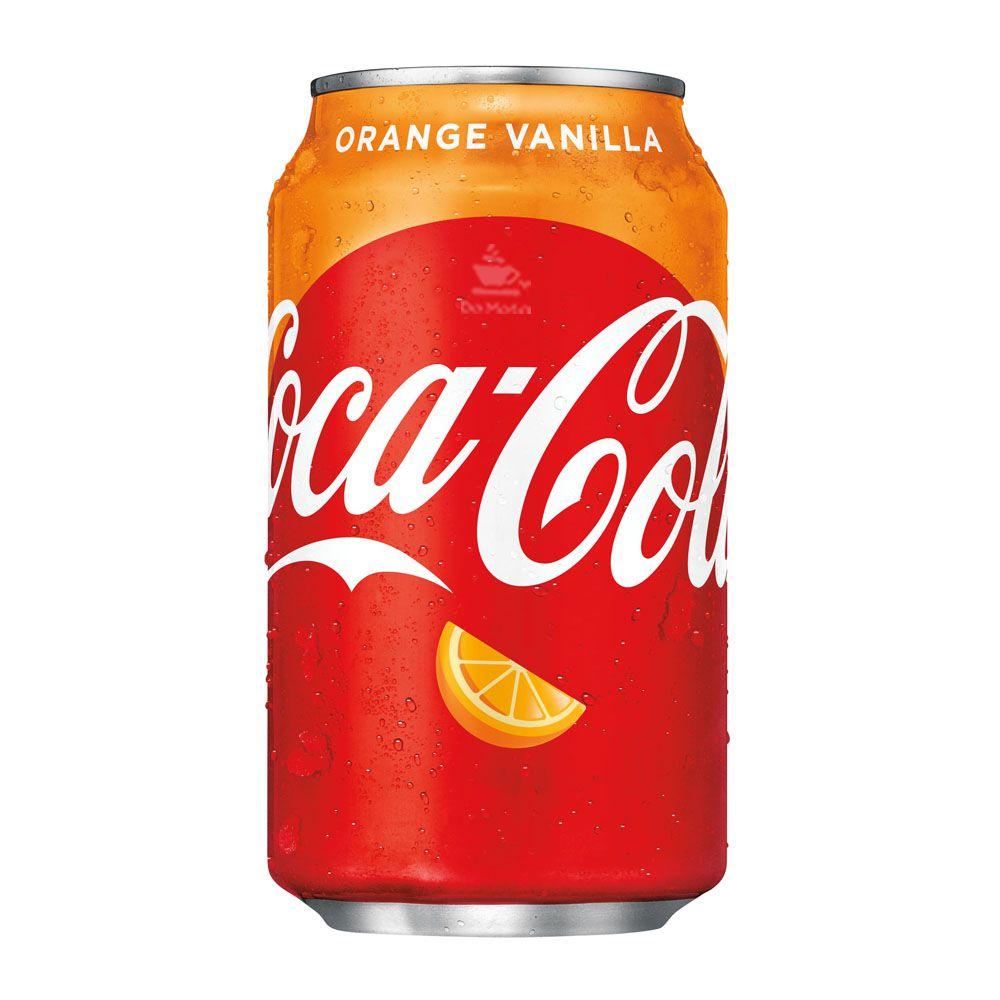 Coca-Cola Orange-Vanilla - IMPORTADA lata 355ml - EUA - Novidade!!!