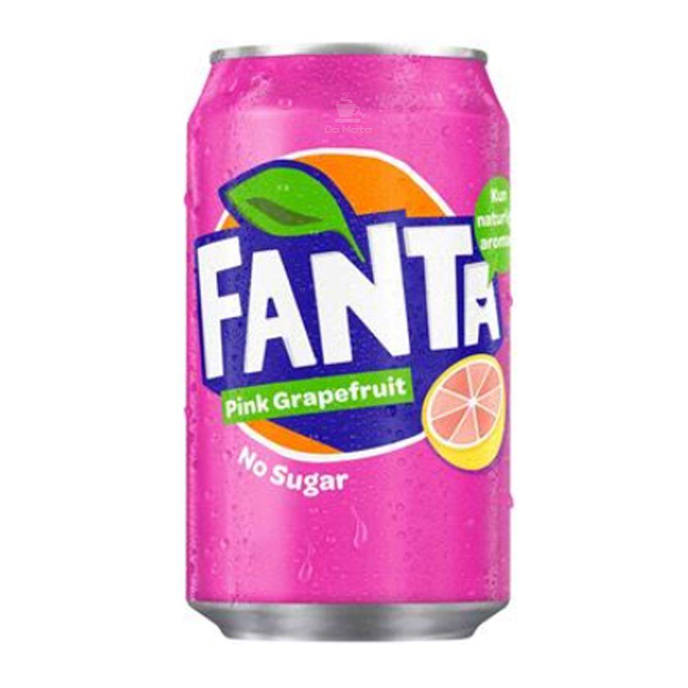 Refrigerante Importado Fanta Pink Grapefruit