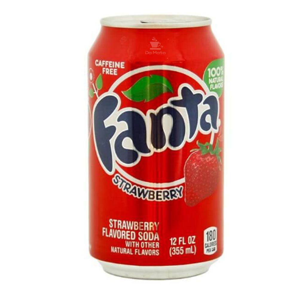 Refrigerante Importado Fanta Strawberry