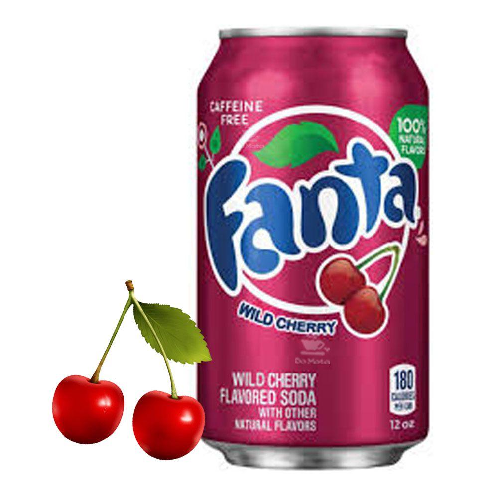 Refrigerante Importado Fanta Wild Cherry