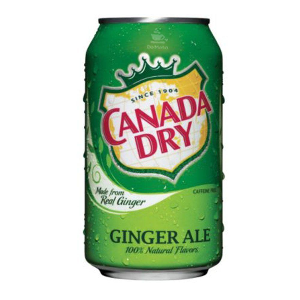 Refrigerante Importado Ginger Ale - Canada Dry