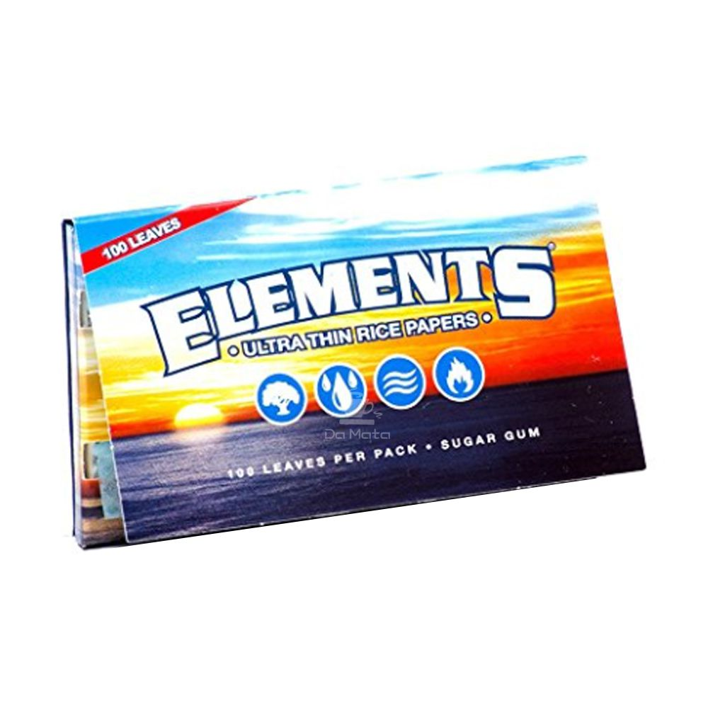Seda Elements Single Wide 100 Folhas