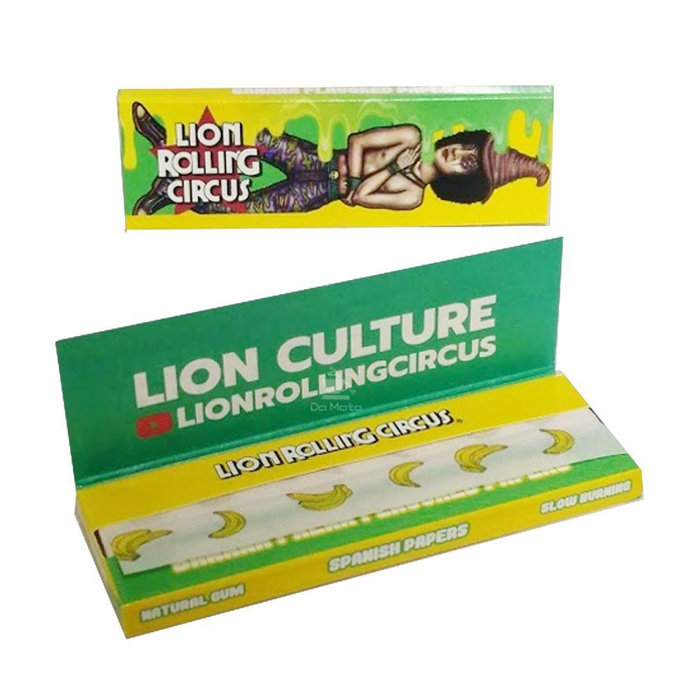 Seda de Banana Lion Rolling Circus  1 1/4