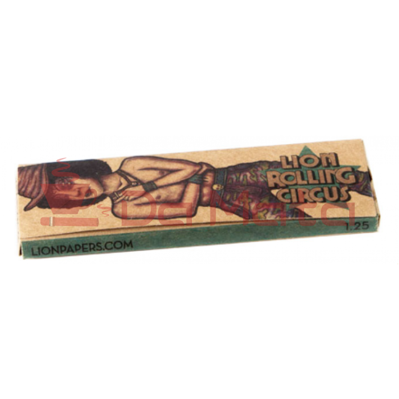 Seda Lion Rolling Circus - Brown 1/4