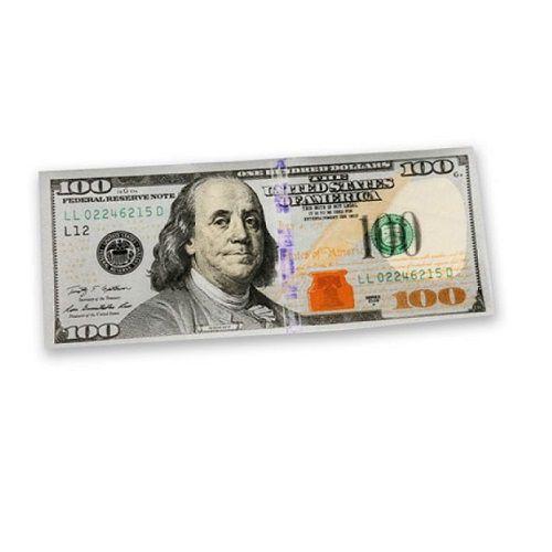 Seda nota de 100 dólares - Bill Rolling Papers 24 folhas