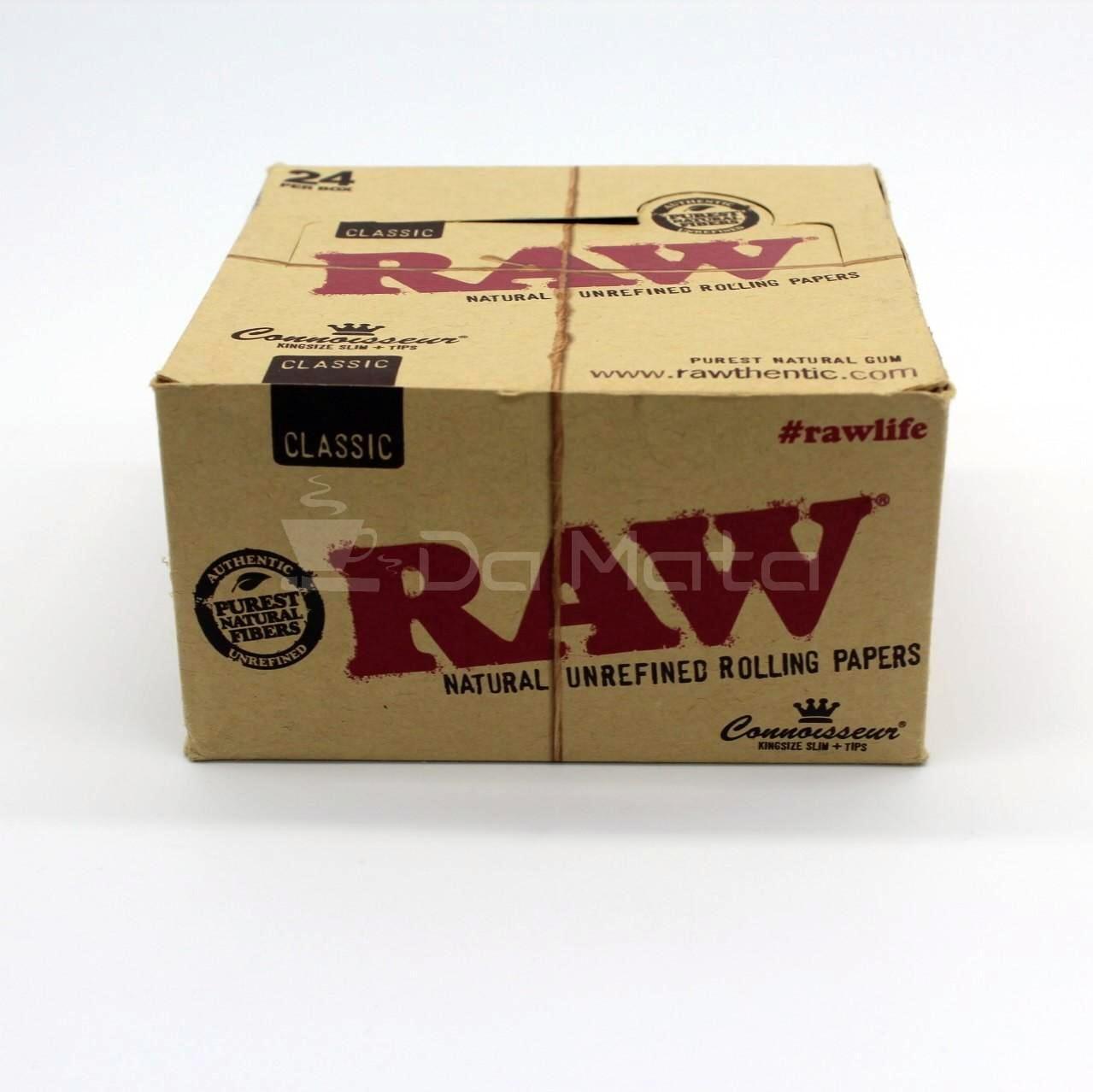 Seda Raw Classic com piteira - Connoisseur