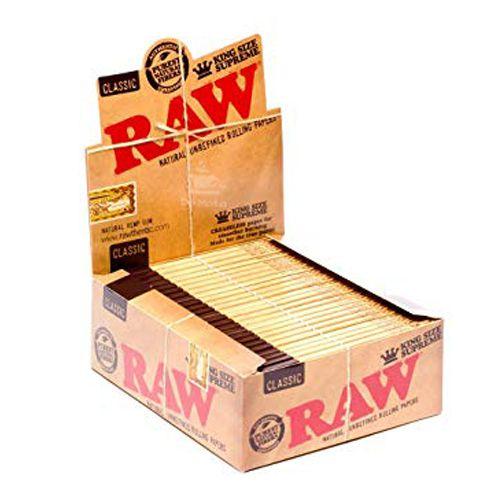 Caixa de Seda RAW Classic - King Size Supreme