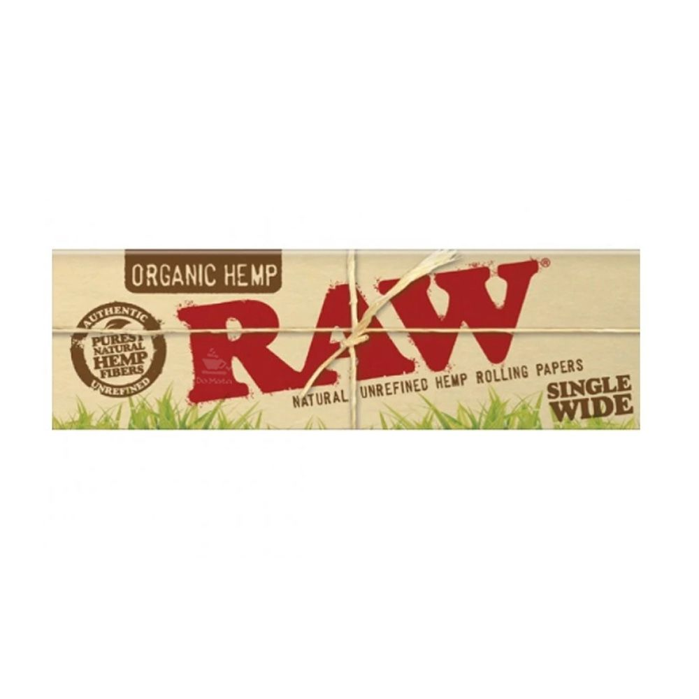 Seda Raw Organic Hemp Single Wide