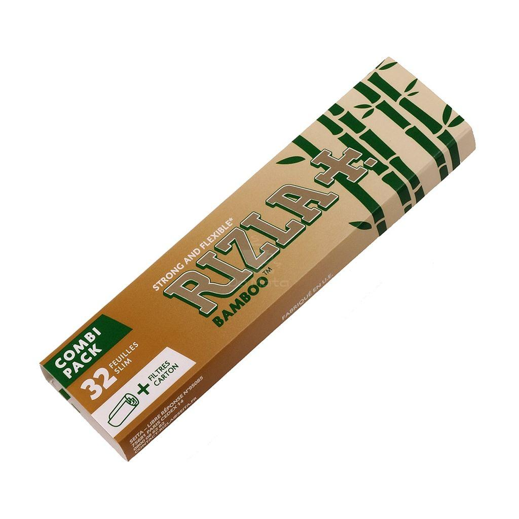 Seda Rizla Bamboo King Size + piteiras
