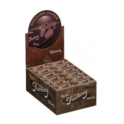 Caixa de Seda Smoking Brown Roll