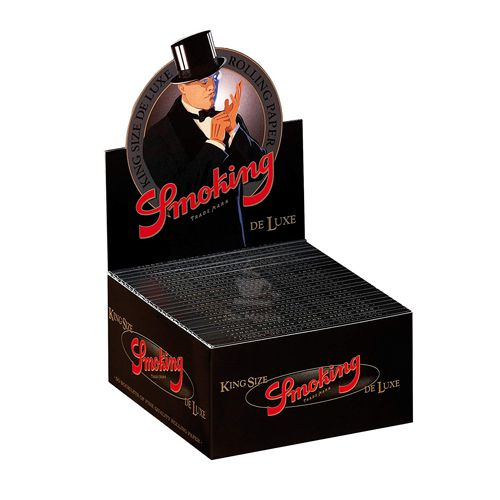 Caixa de Seda Smoking Deluxe King Size