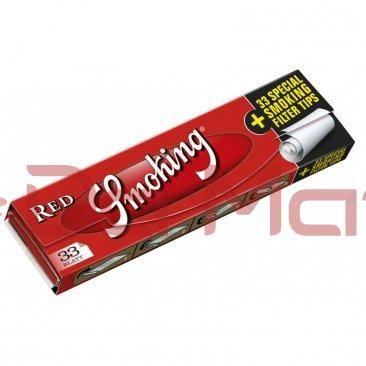 Seda Smoking - Red c/ Piteira