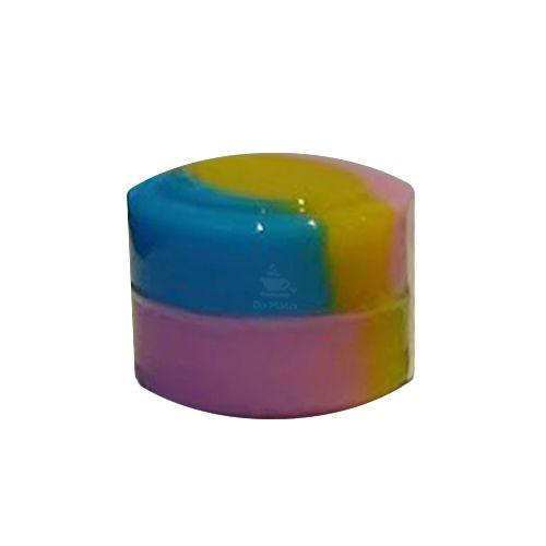 Slick Pequeno - Azul, Amarelo e Lilás