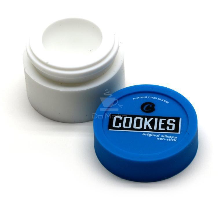 Slick, pote silicone Cookies branco e azul 4.5ml