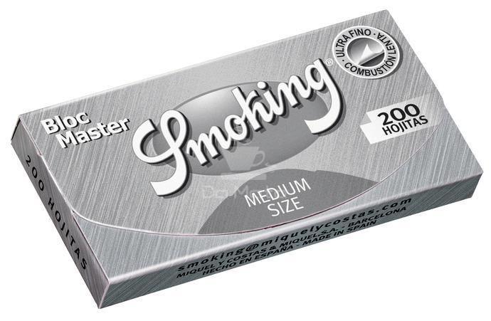 Smoking Bloc Master - 200 folhinhas