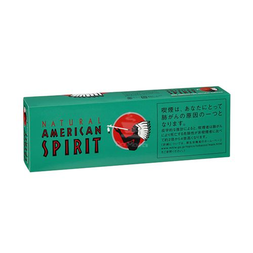 Tabaco American Spirit - Green - Pacote c/ 20 un.