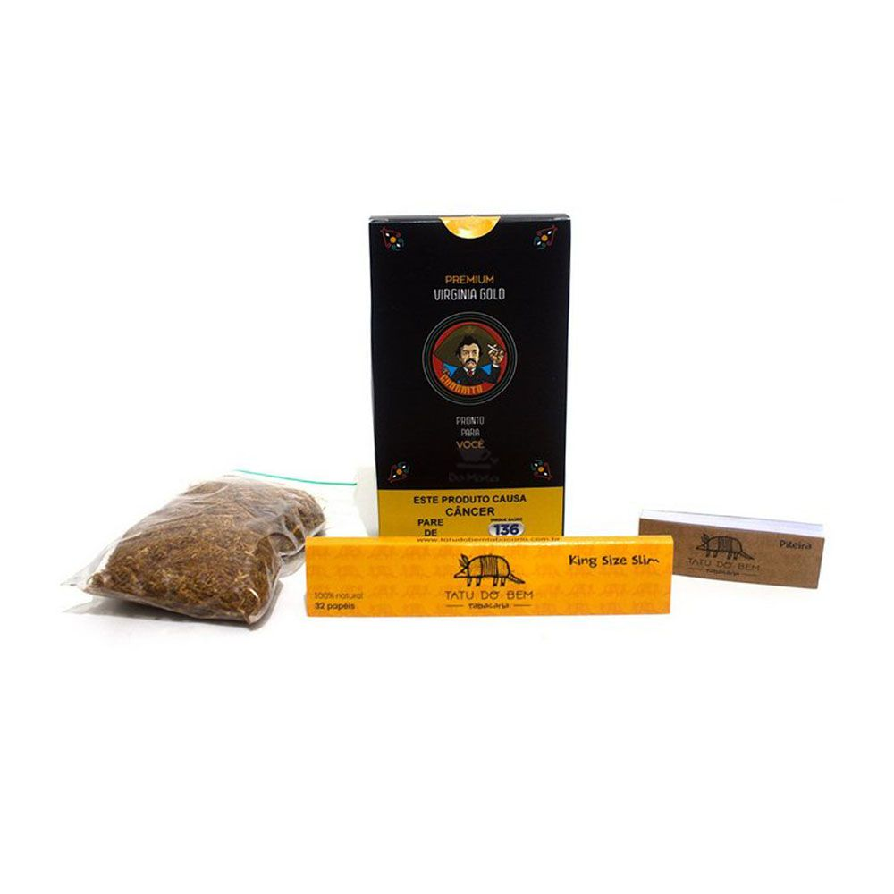 Tabaco Charrito Premium Virginia Gold