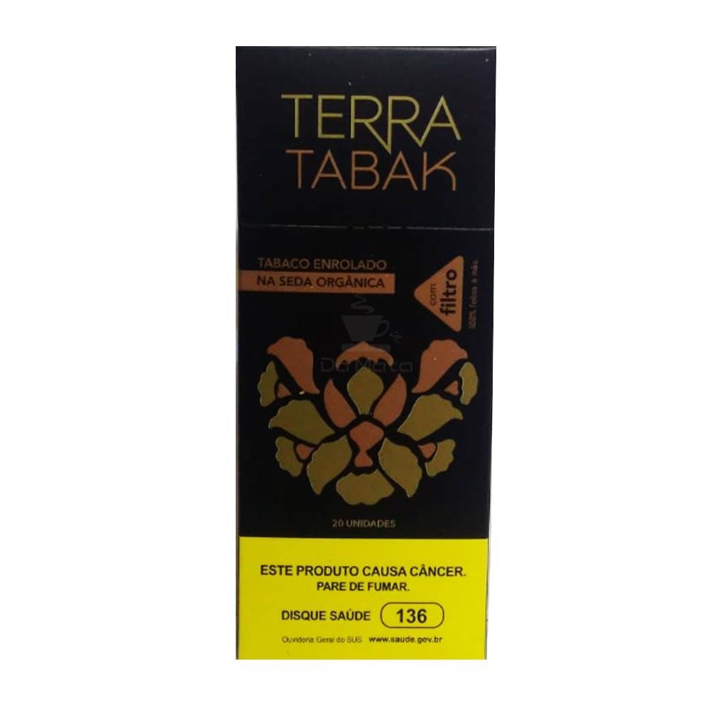 Tabaco Enrolado na Seda OCB c/ Filtro Terra Tabak