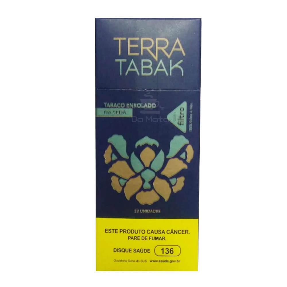 Tabaco Enrolado na Seda Smoking c/ Filtro Terra Tabak