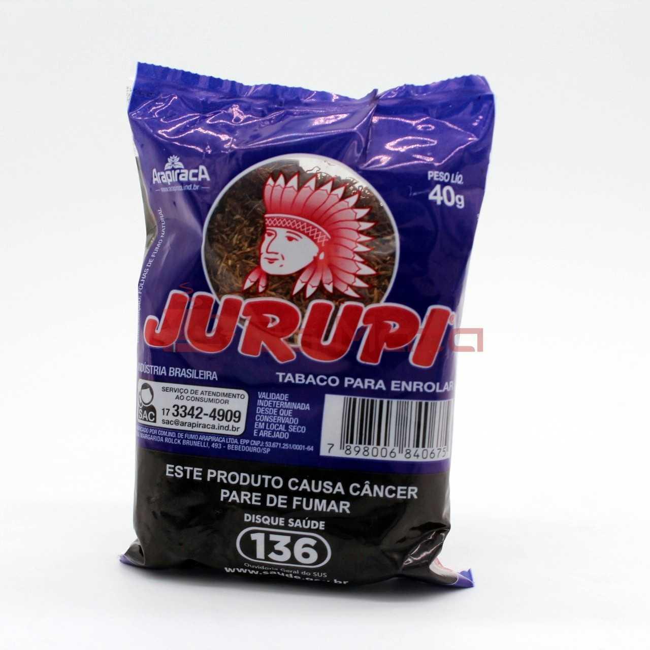 Tabaco Jurupi - 40g