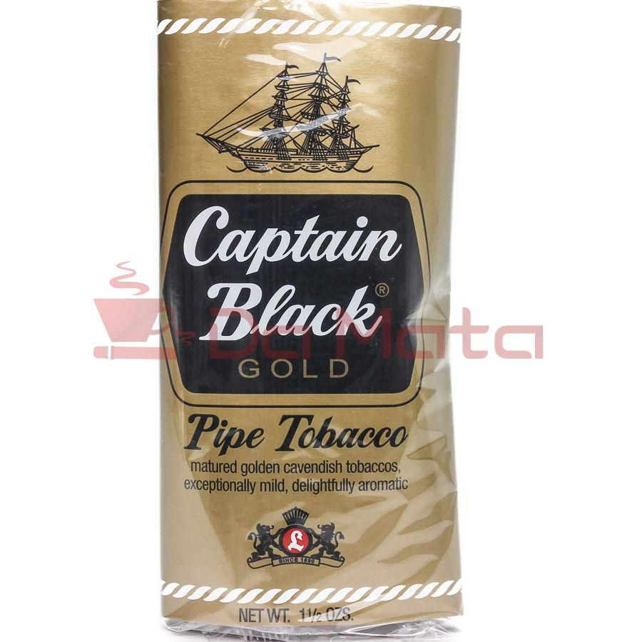 Tabaco para Cachimbo - Captain Black -Gold