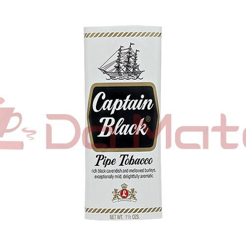 Tabaco para cachimbo - Captain Black -  White