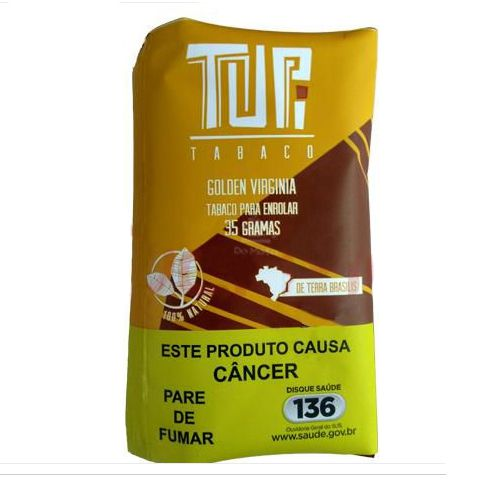 Tabaco Tupi - Golden Virginia