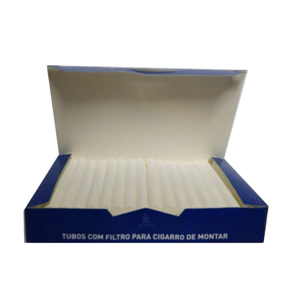 Tubo para Cigarro Filtro Branco Souza Cruz