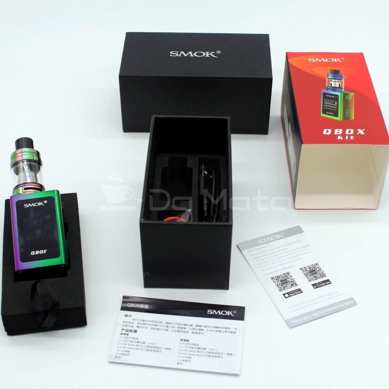 Vaporizador Smok Qbox Kit