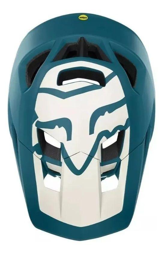 Capacete Fox ProFrame Full Face Matte Azul