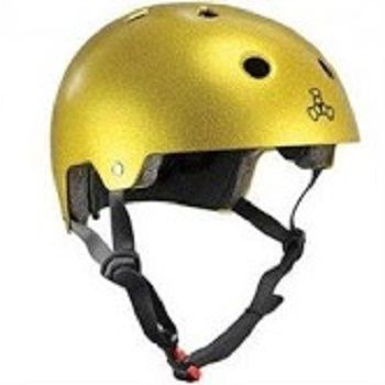 Capacete Gold Flake