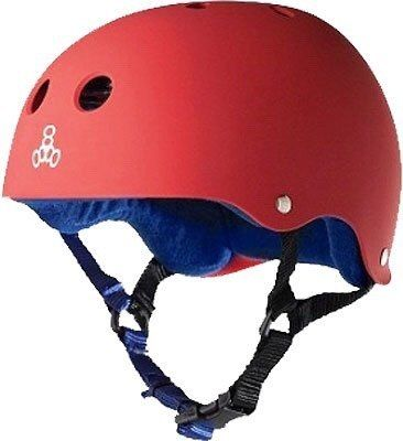 Capacete Red Rubber - Triple 8