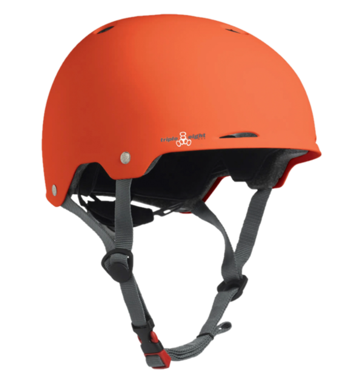 Capacete Triple 8 Gotham Dual Orange Rubber