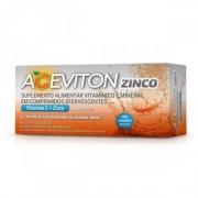 Aceviton Zinco Sabor Laranja 10 Comprimidos Efervescentes
