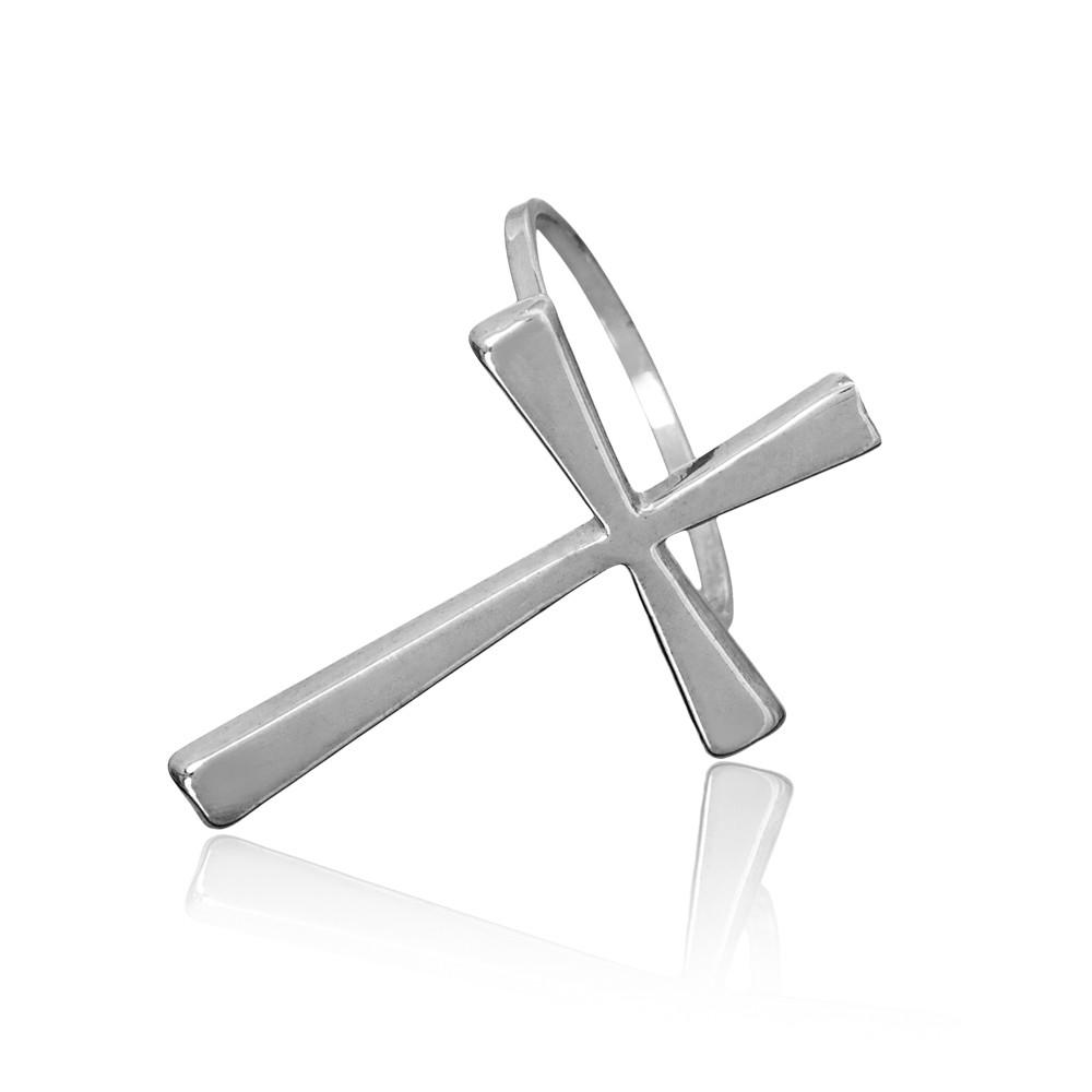 Anel joia em prata 925 de Cruz