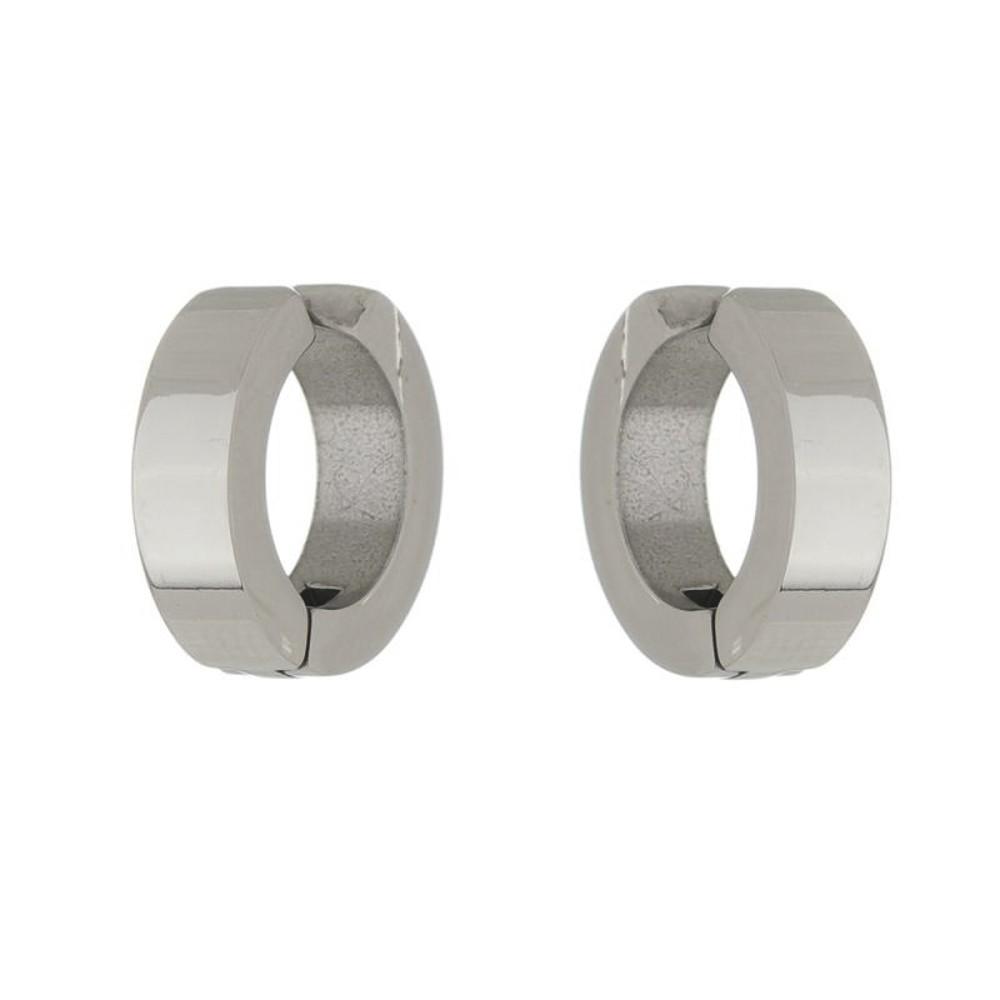 Argola de aço inox polido de pressão ou piercing