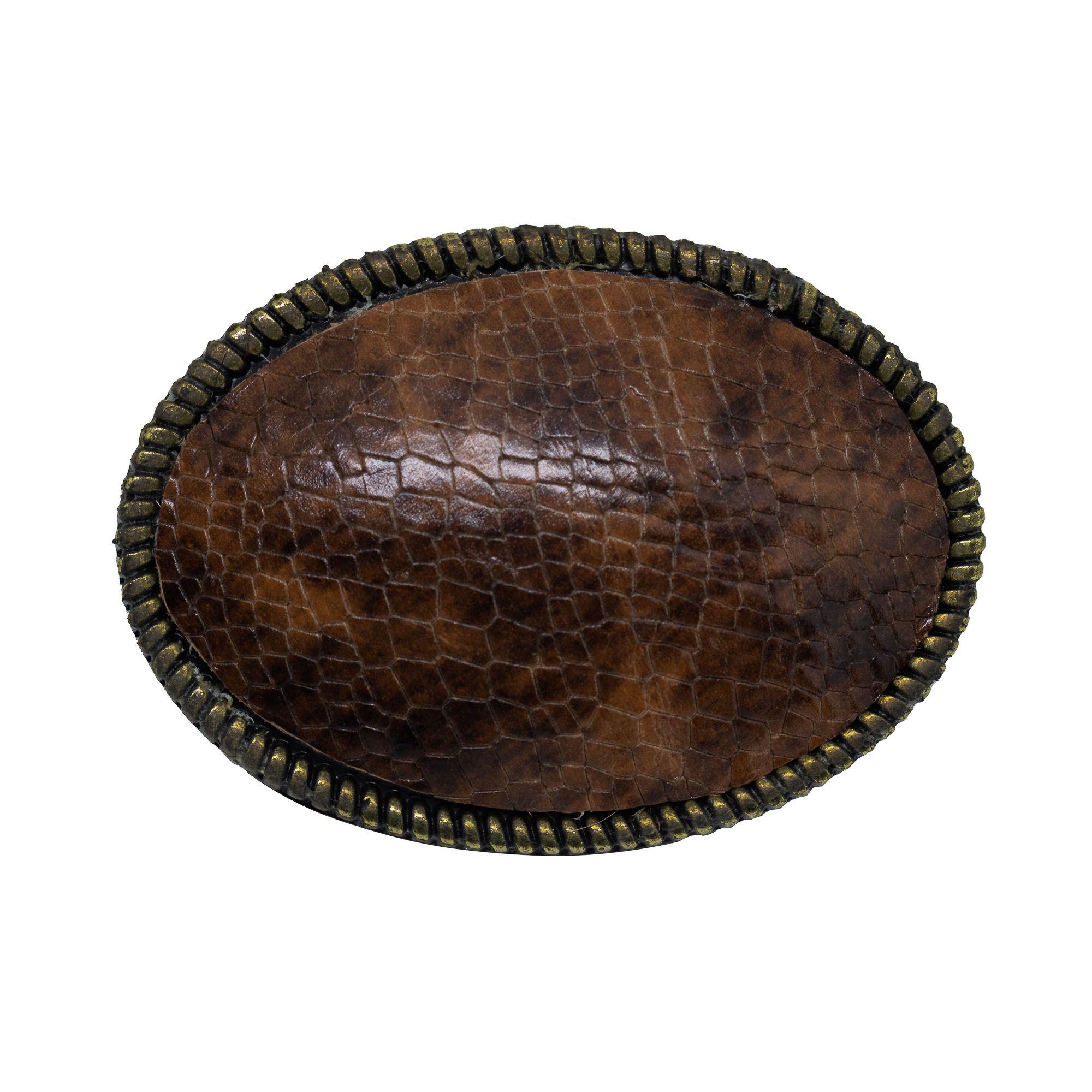 Fivela para cinto troca fivela em ouro velho e couro