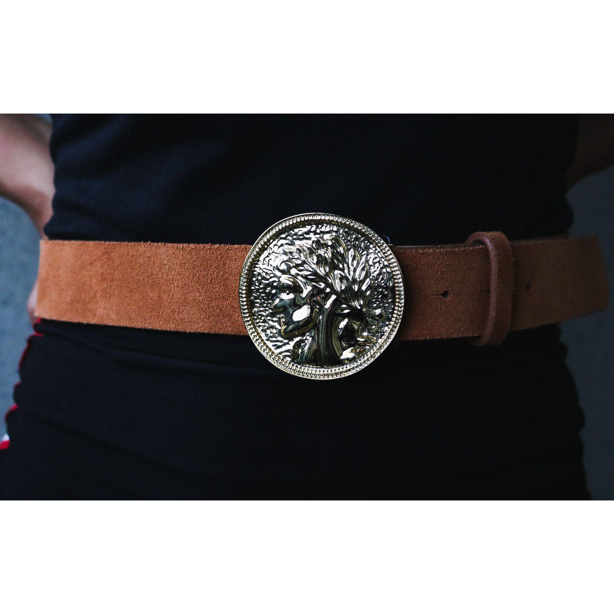Fivela para cinto troca fivela de moeda da Grécia antiga