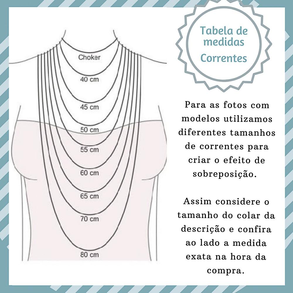 Gargantilha joia prata 925 pura Mão de Fátima hipoalergênica