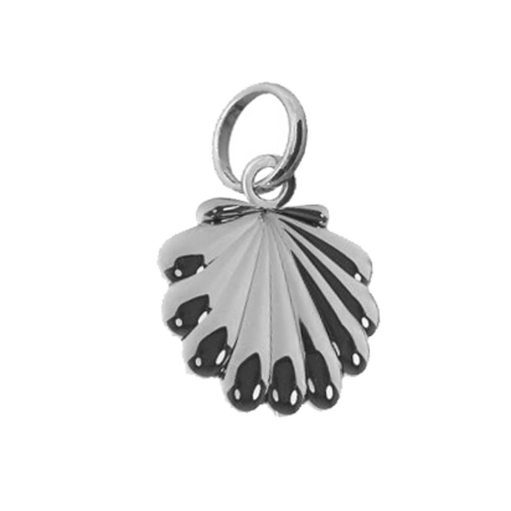 Pingente joia em prata 925 Concha