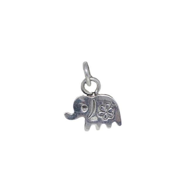 Pingente joia em prata 925 maciça Elefante hipoalergênica