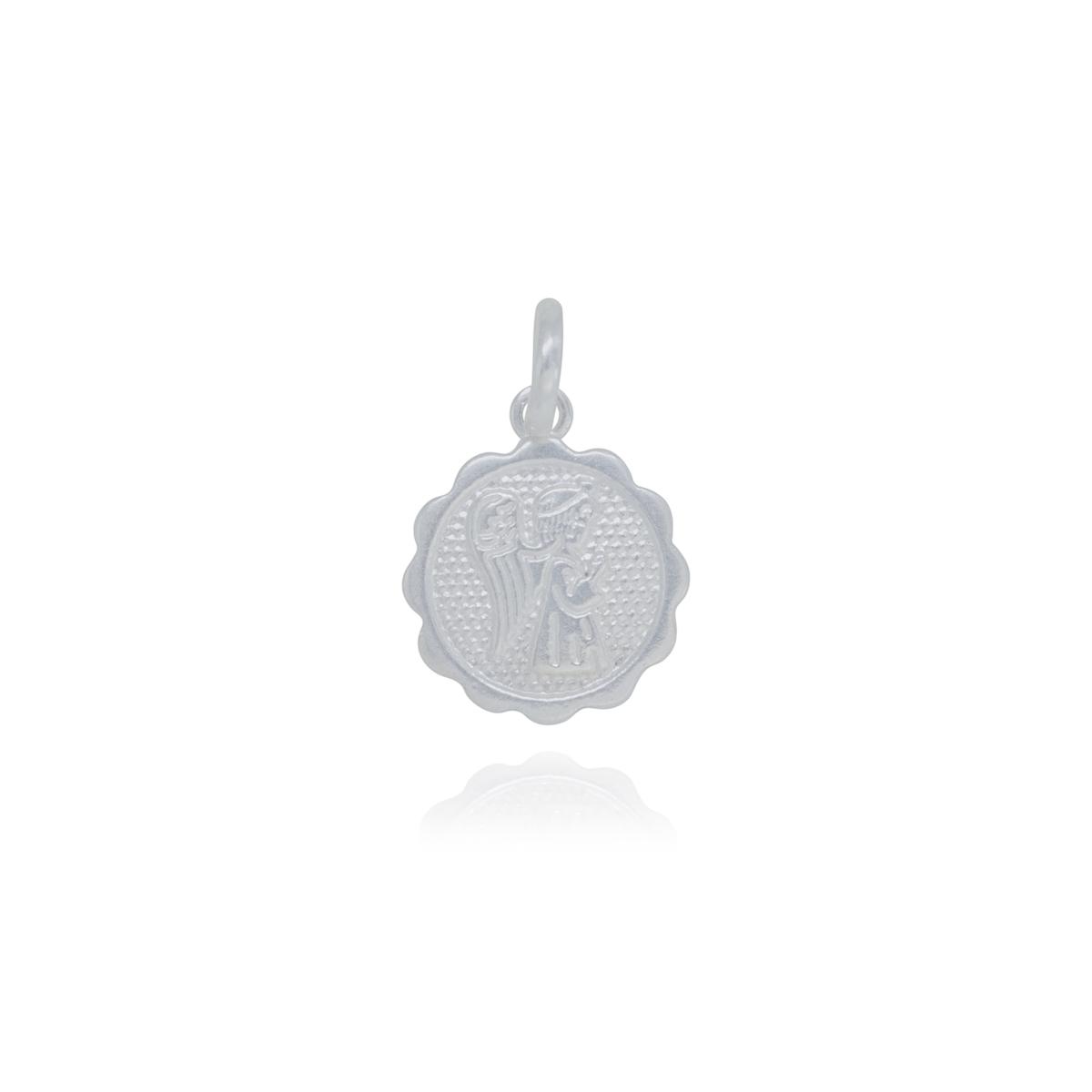 Pingente joia prata de lei 925 pura Anjinho hipoalergênica