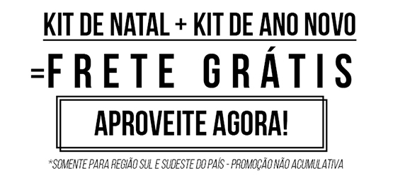 Kit de Natal + Kit de Ano Novo = Frete Grátis - Garanta Agora!
