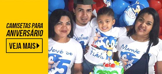 Camisetas Festa Infantil - Confira!